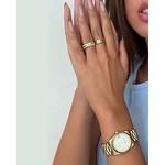 My Jewellery My Jewellery Horloge Metalen Band Grof goud