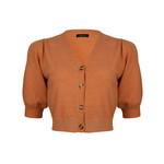 Ydence Ydence Knitted Top Chantalle Rust