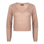 Ydence Ydence Knitted Sweater Savannah Soft Pink