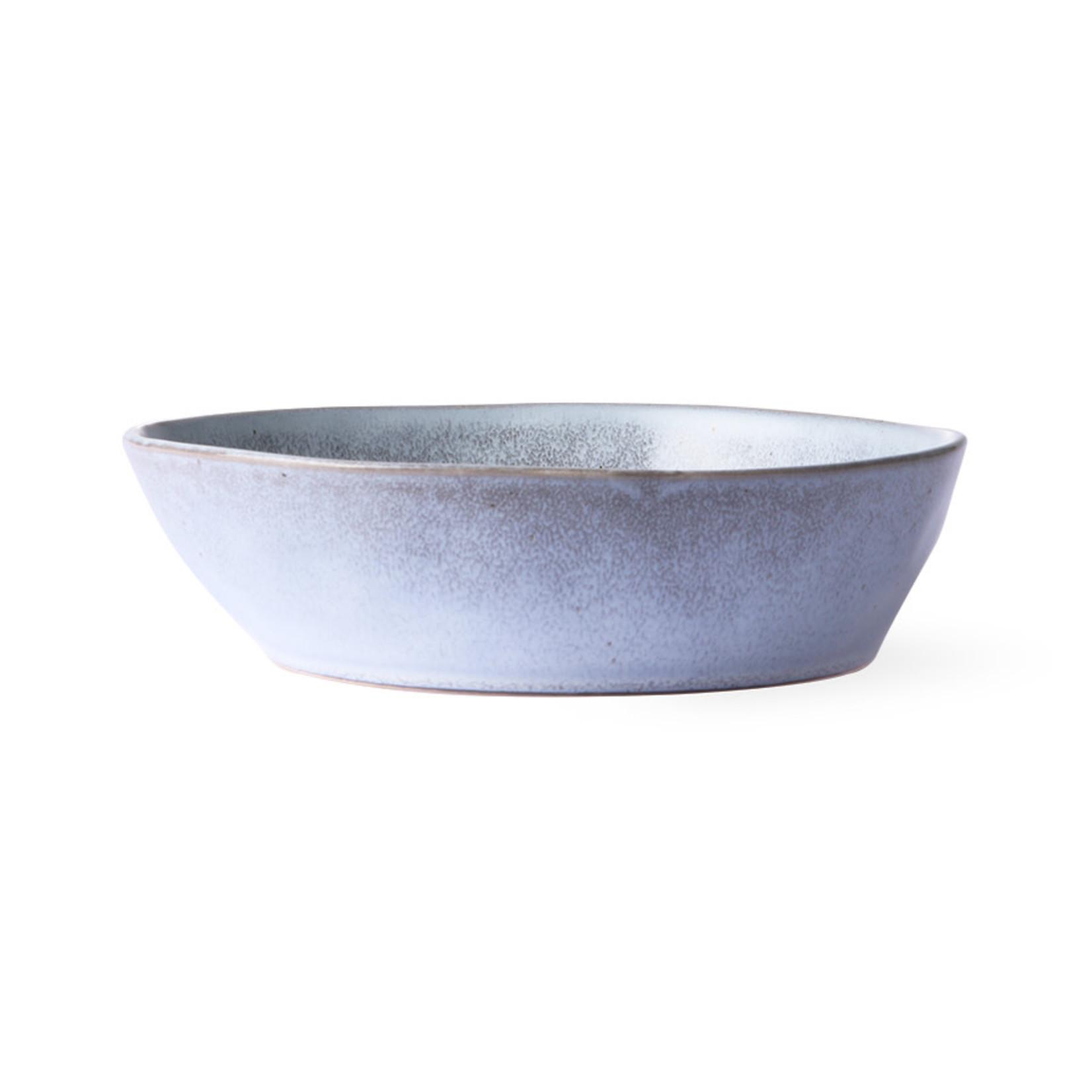 HK Living HK Living bold & basic ceramics: rustic grey bowl M