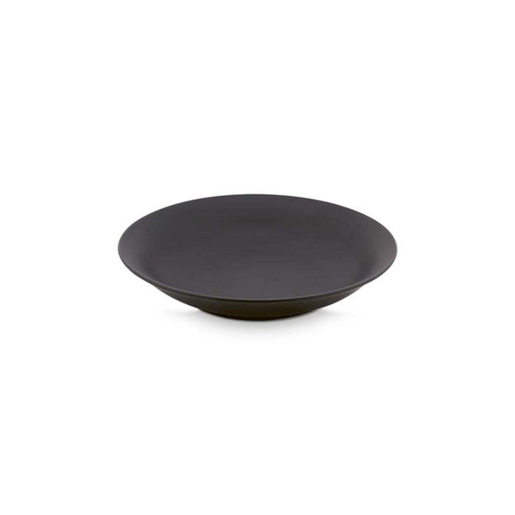 vtwonen vtwonen | Servies pasta bord mat zwart 25.5cm