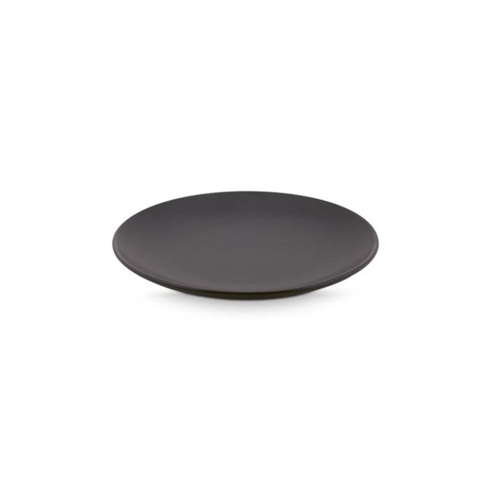 vtwonen vtwonen | Servies bord mat zwart 20cm