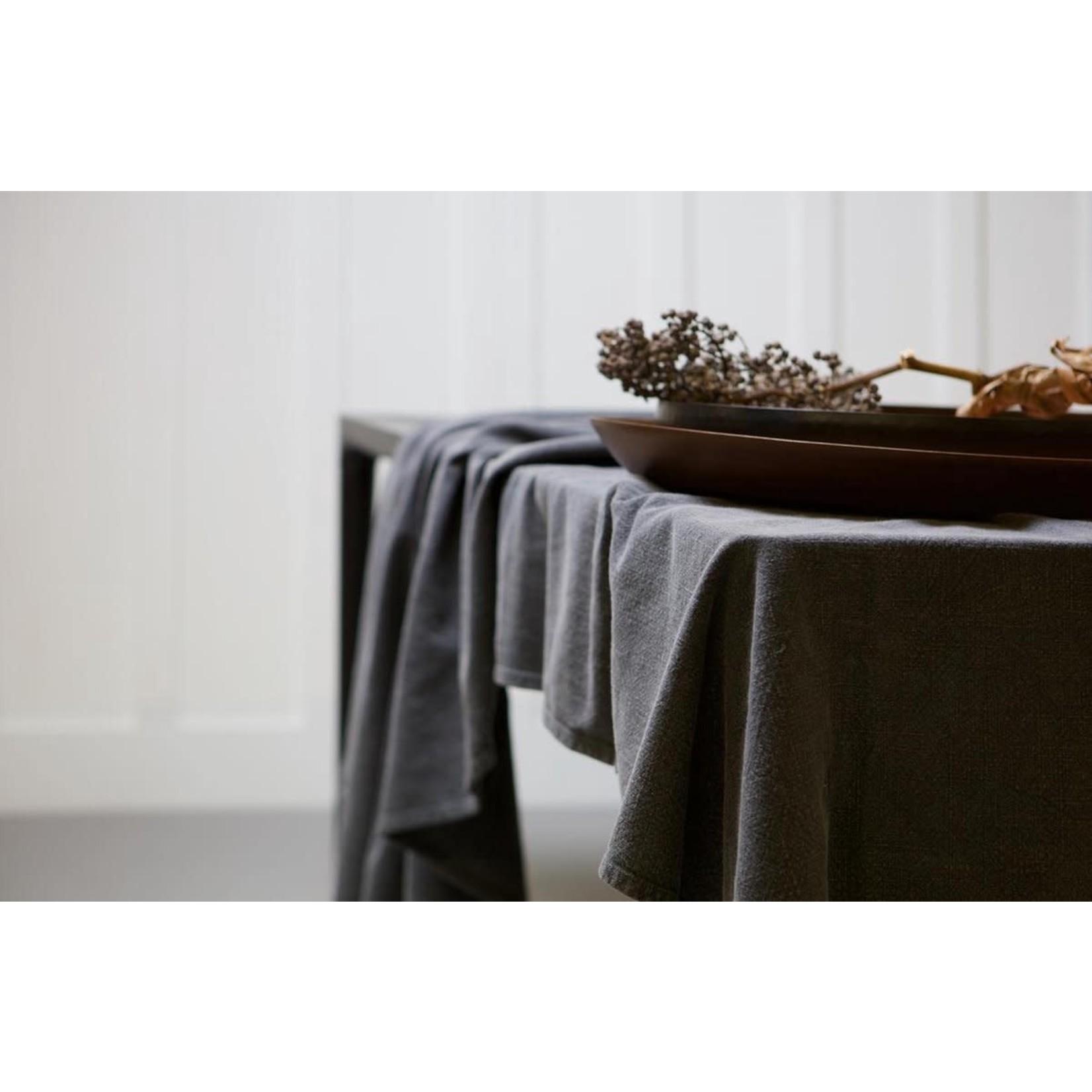Be Pure Home Be Pure Home Tafelkleed  | 150x300 cm katoen Antraciet*