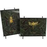 Fotolijst Insect L 13x18 Zwart A2 Metaal  13x21.5x1cm