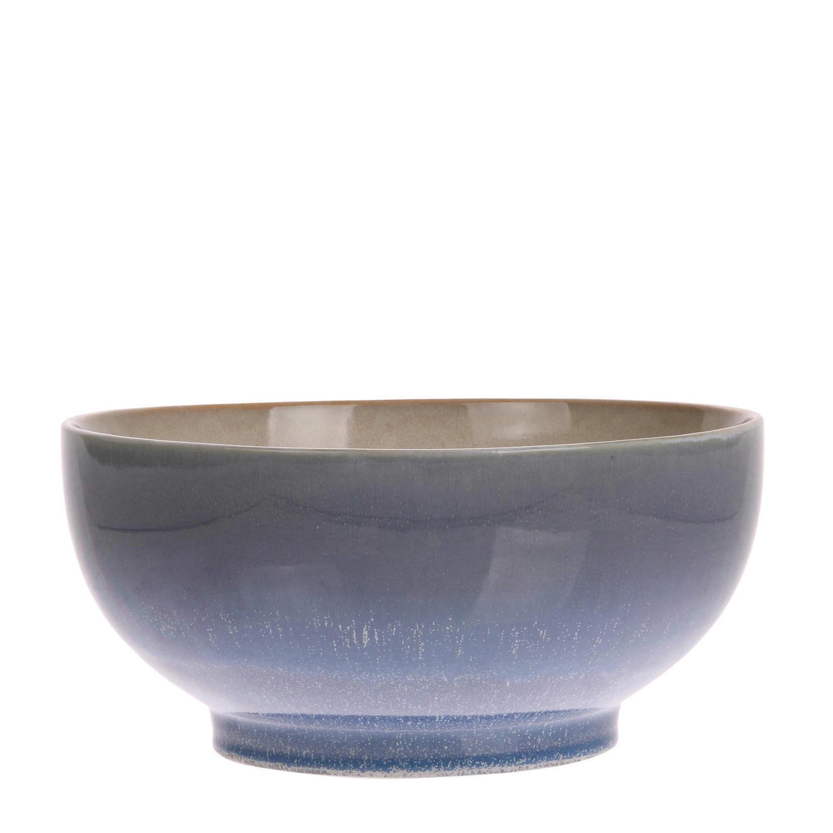 HK Living HK Living Ceramic 70's Salade bowl Ocean