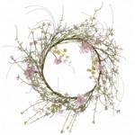Mica Stijl28 | Krans roze 30cm