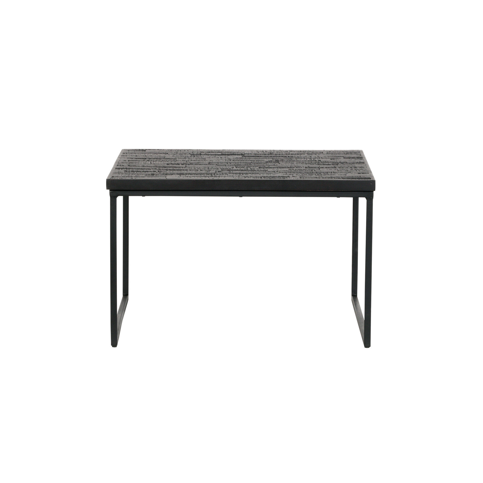 Be Pure Home Be Pure Home | Bijzettafel Sharing vierkant 60x60x38 cm zwart