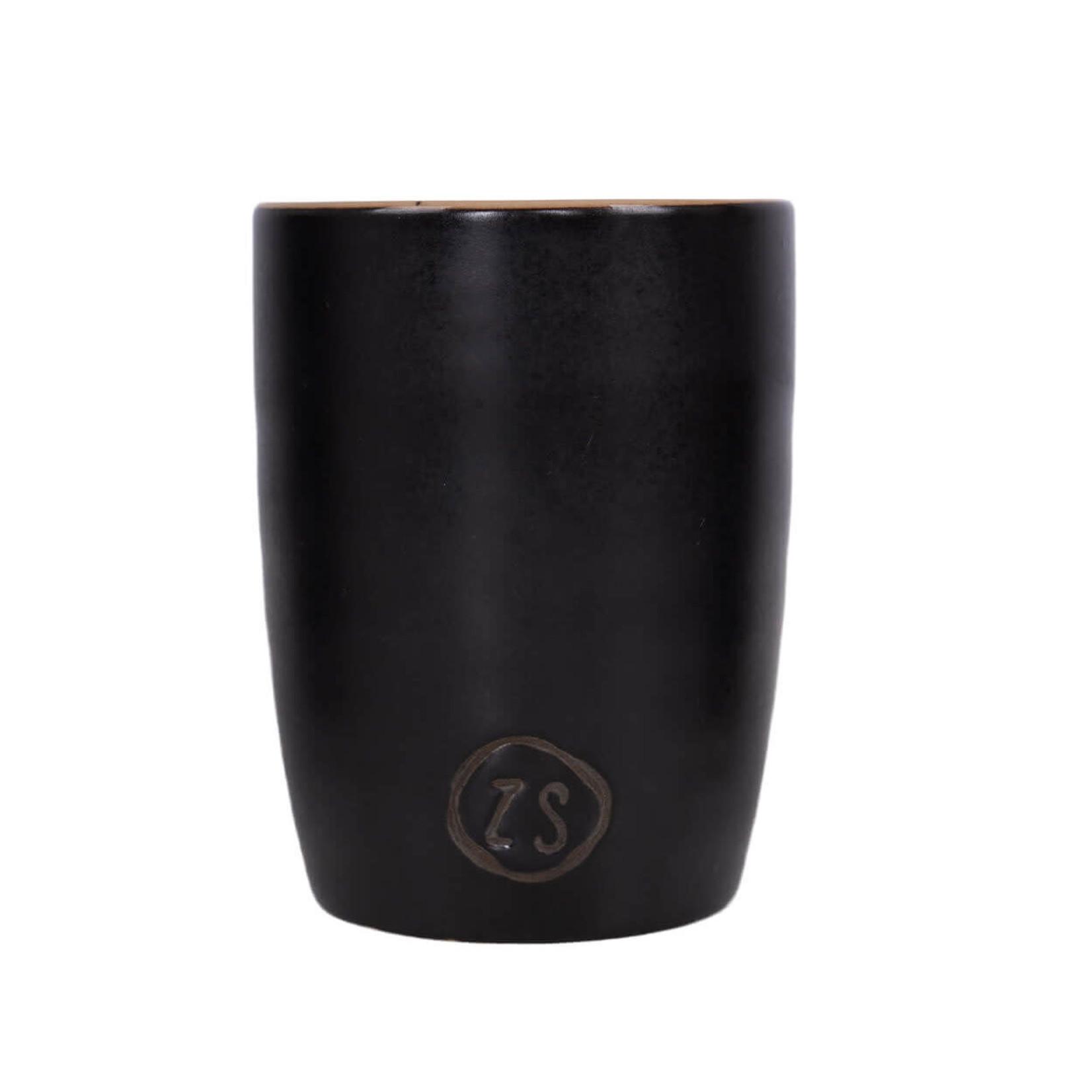 Zusss Zusss   Koffiemok aardewerk zwart