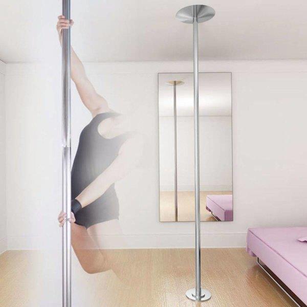 Danspaal in hoogte verstelbaar 224-275 cm