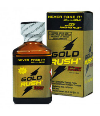 Poppers Gold Rush Boxed Extreme Formula - 30ml