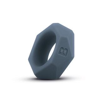 Boners Diamond Cock Ring - Grey