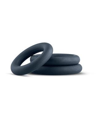 Boners Ensemble d'anneaux péniens à 3 pièces - gris