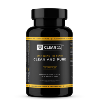 Clean for Men Clean and Pure für Männer | 60 Kapseln
