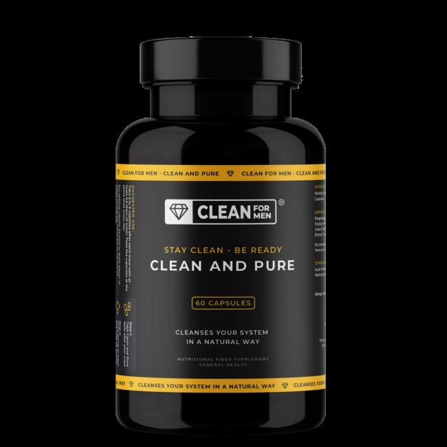 Clean and Pure für Männer | 60 Kapseln