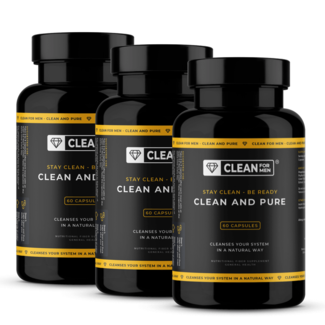 Clean for Men 3x Clean and Pure for Men | 60 capsules