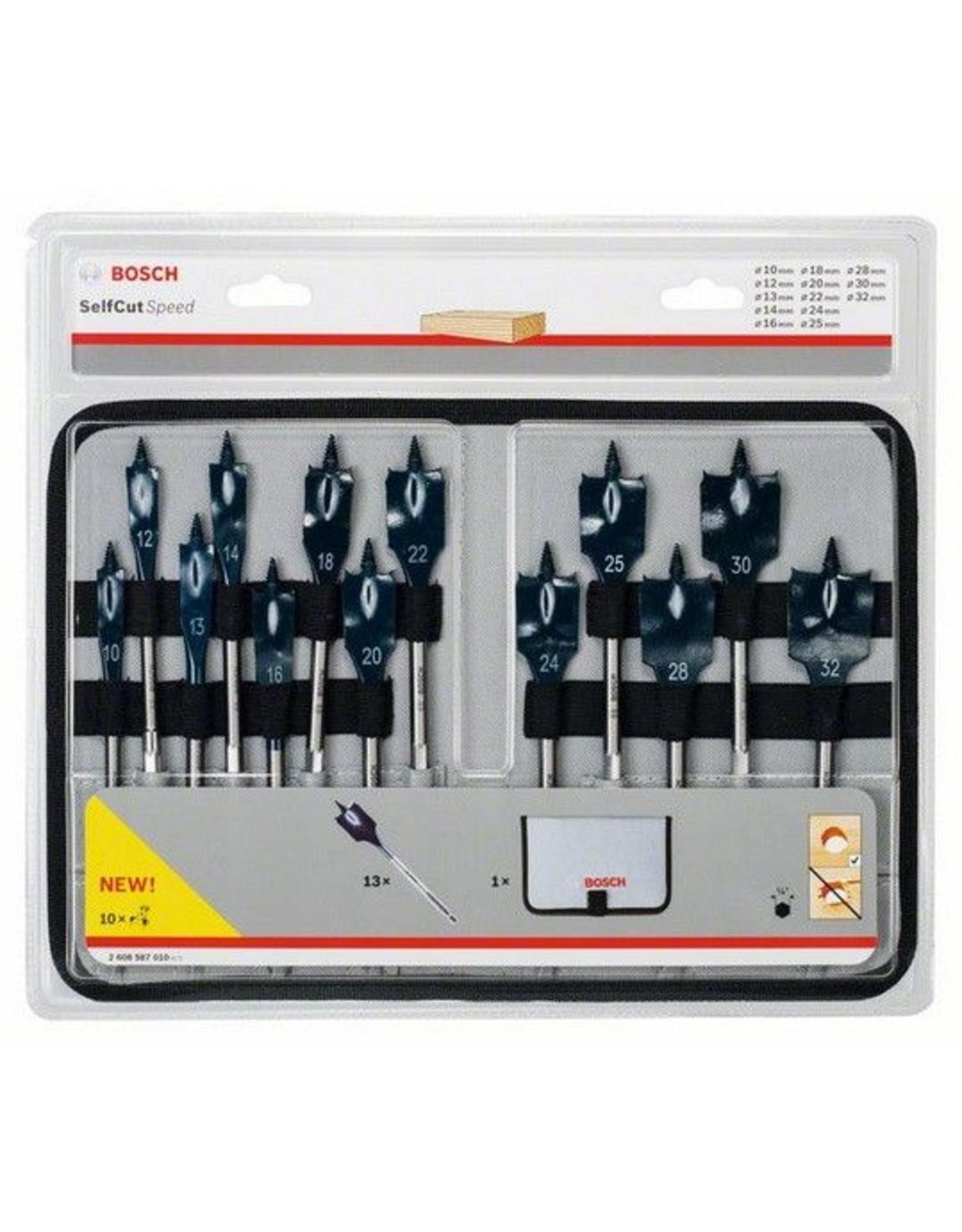 Bosch Professional Bosch 13-delige set speedboren
