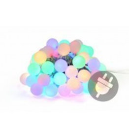 Garden Royal Feestverlichting 50 LED lampen pastel