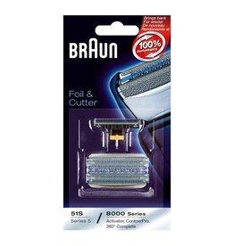 Braun Braun 51S, Series 5, 8000 Combipack Scheerblad
