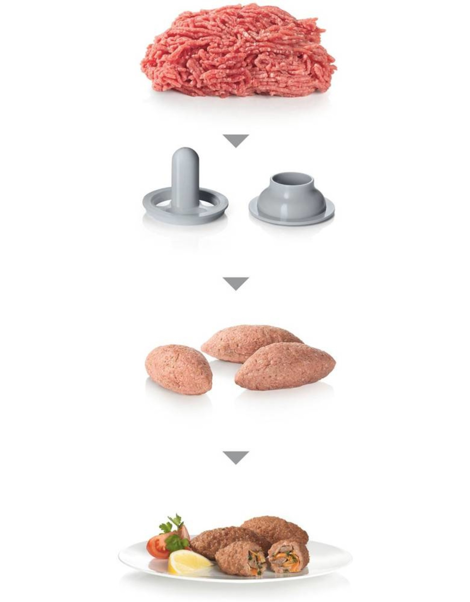 Bosch Bosch MFW45020 Vleesmolen Wit