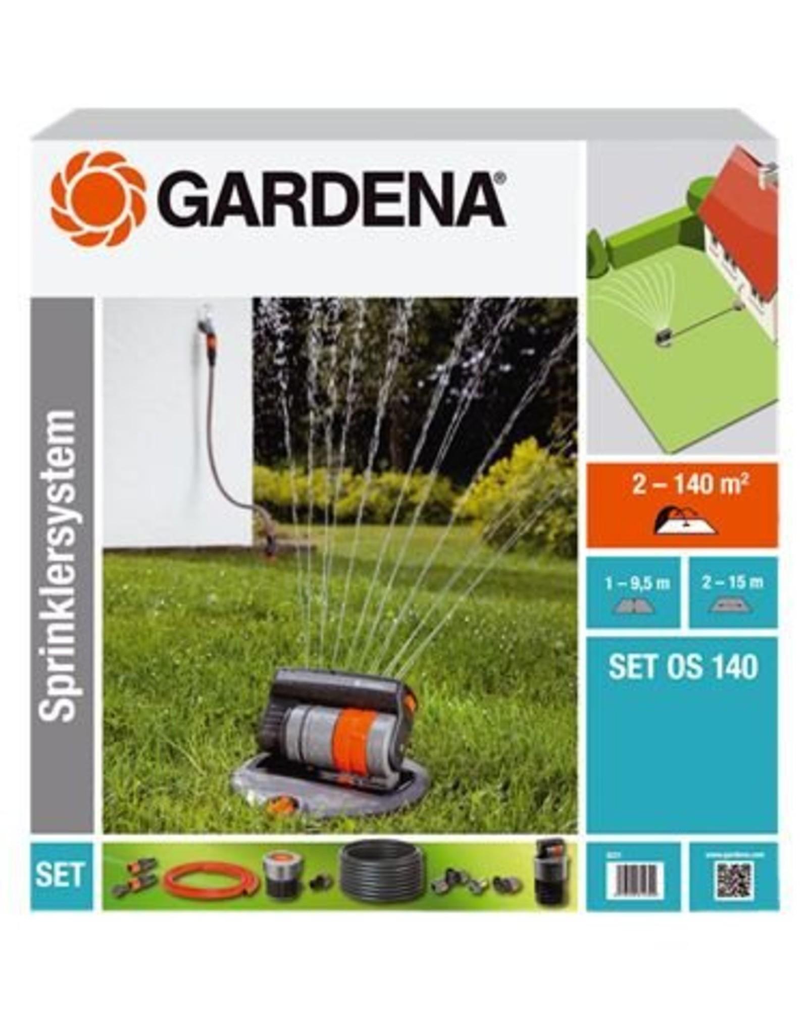 Gardena Gardena OS 140 Pulserende tuinsprinkler