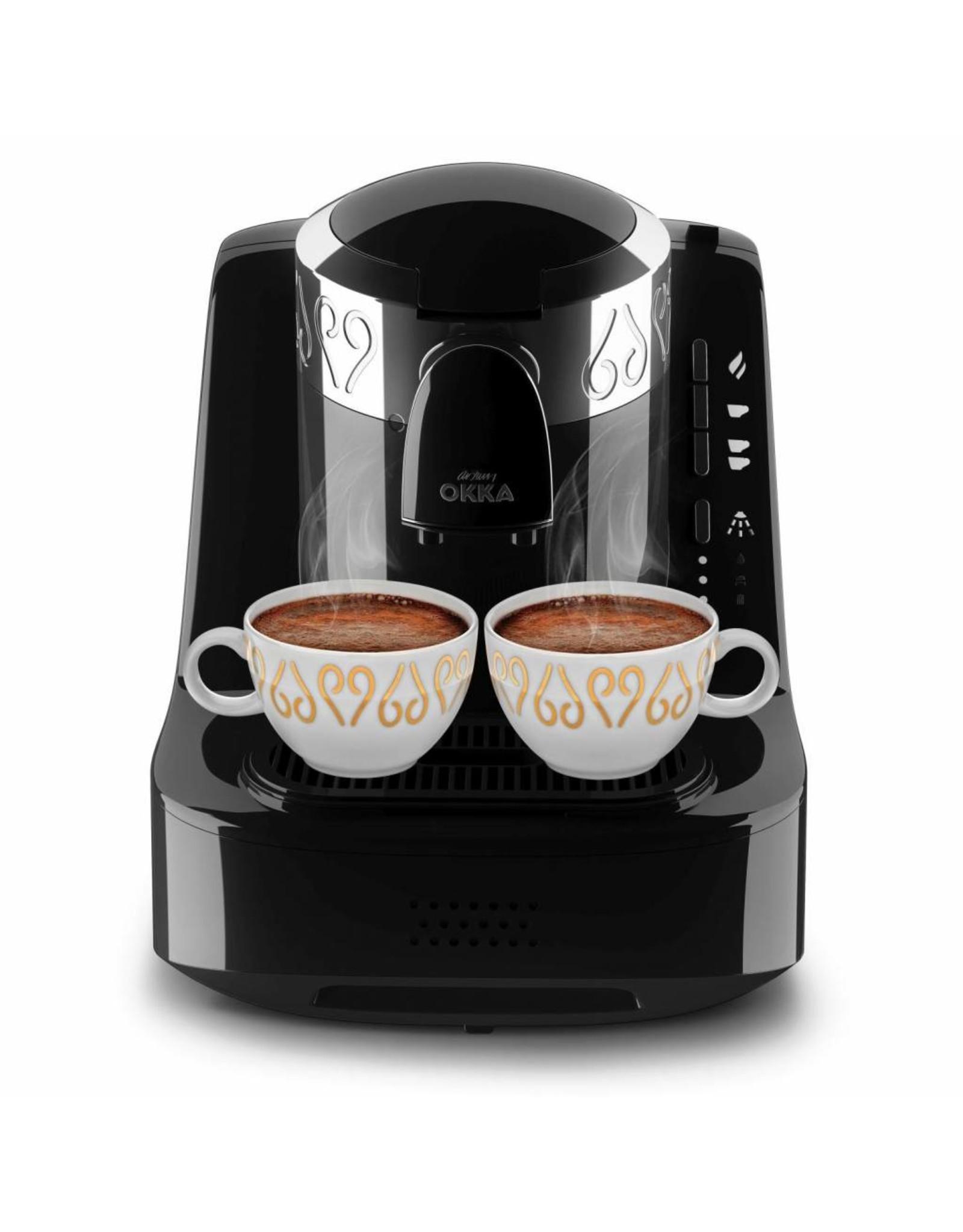 Arzum Arzum Okka Turks koffiezetapparaat 0.95l Zwart, Zilver