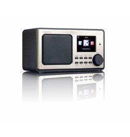 Lenco Lenco DIR-100 Internet Digitaal Zwart, Goud radio