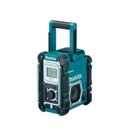 Makita Makita DMR108 Draagbaar Bouwradio Zwart/Blauw met Bluetooth