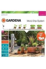 Gardena Gardena 13002 Start Set M voor bloembakken met besproeiingscomputer