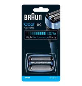 Braun Braun CoolTec vervangend onderdeel 40B blauw