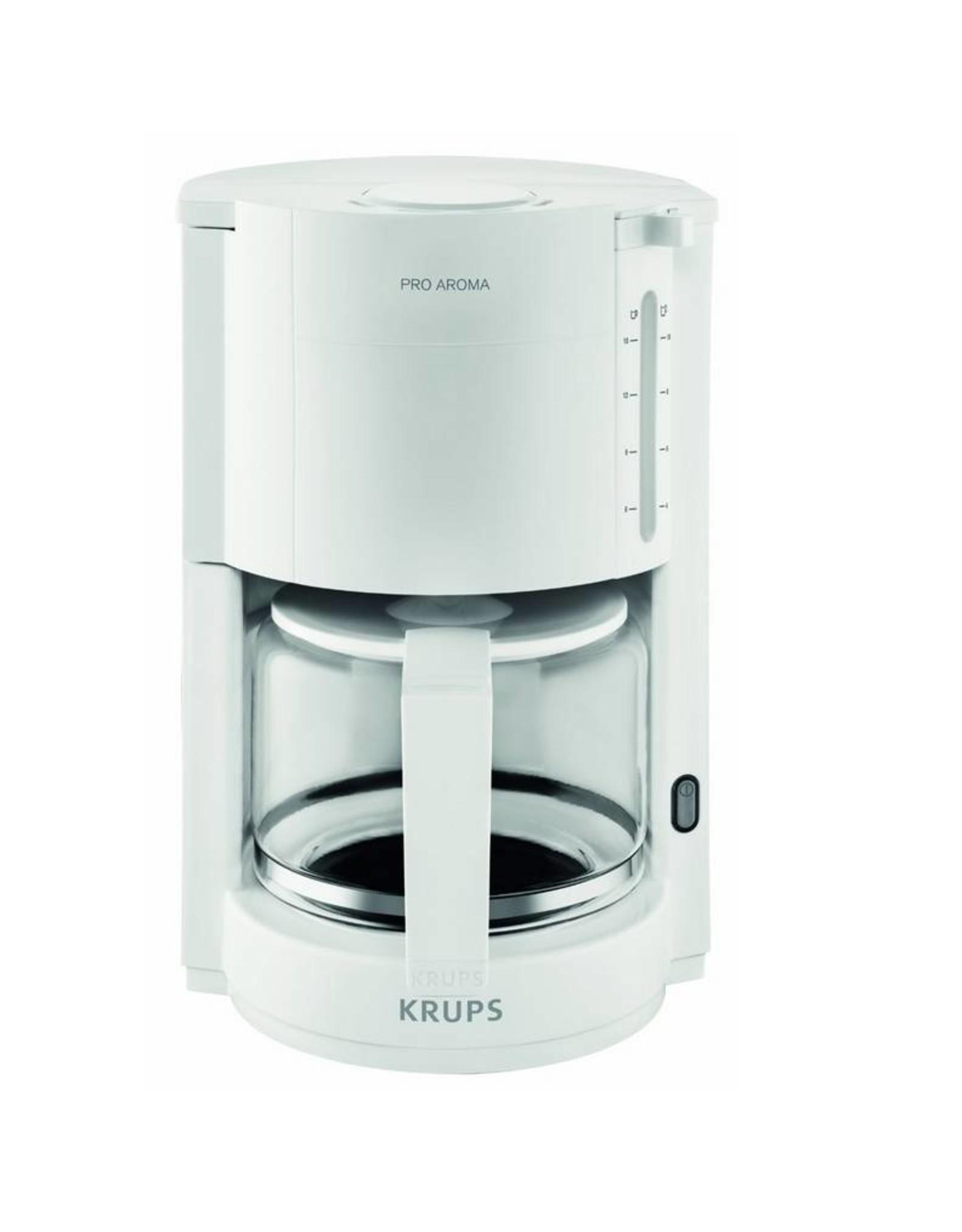 Krups Krups F30901 Filterkoffiezetapparaat Wit