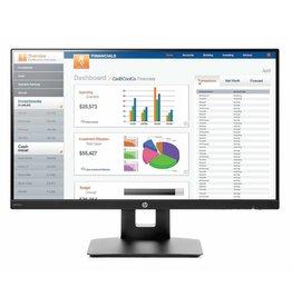 HP HP VH240a 23.8 Full HD IPS Zwart computer monitor