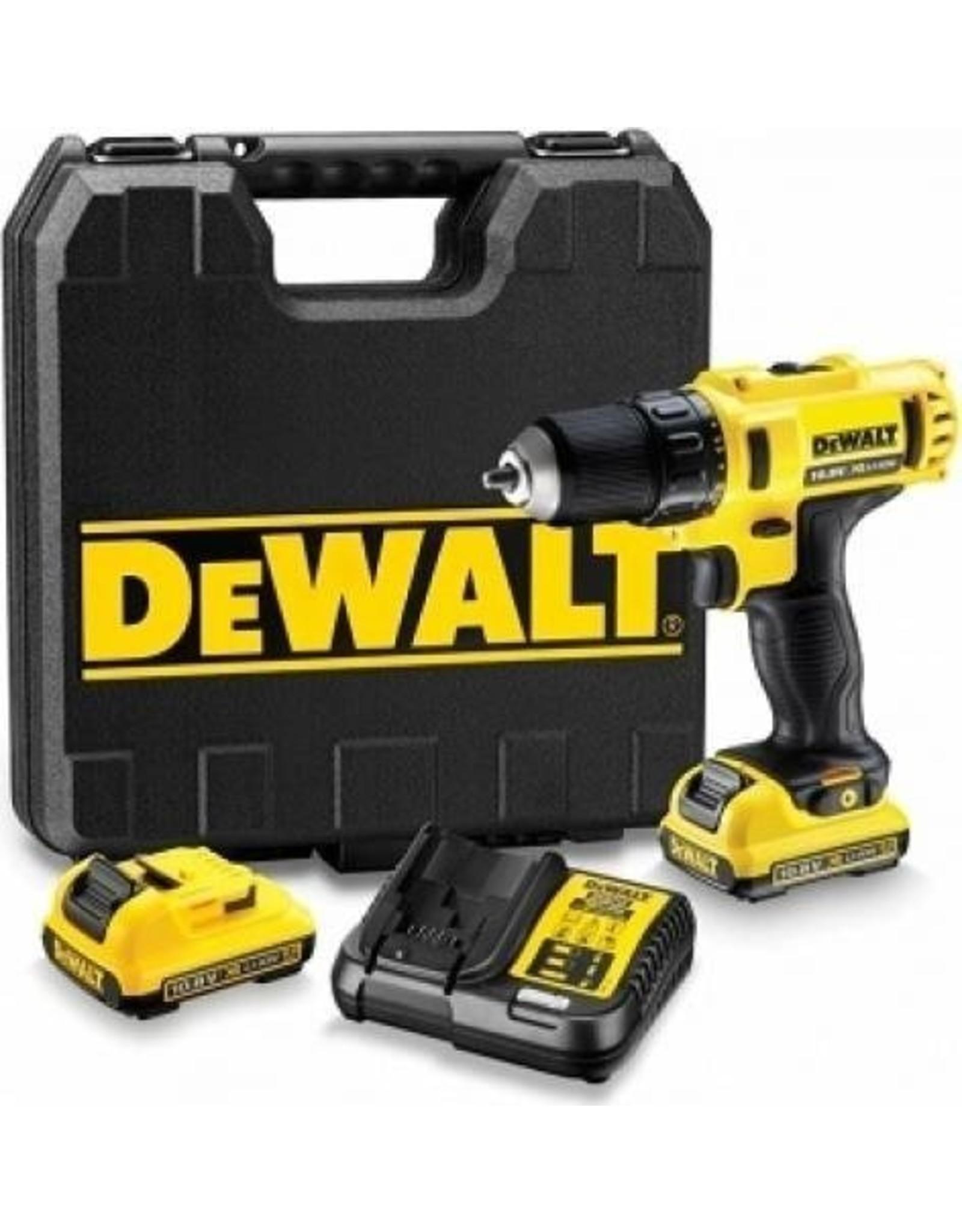 DeWALT DeWALT DCD710D2 Schroefboormachine Incl. 2 accu's
