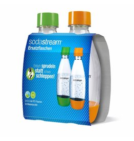 SodaStream SodaStream Drinkflessen - 2x500 ml