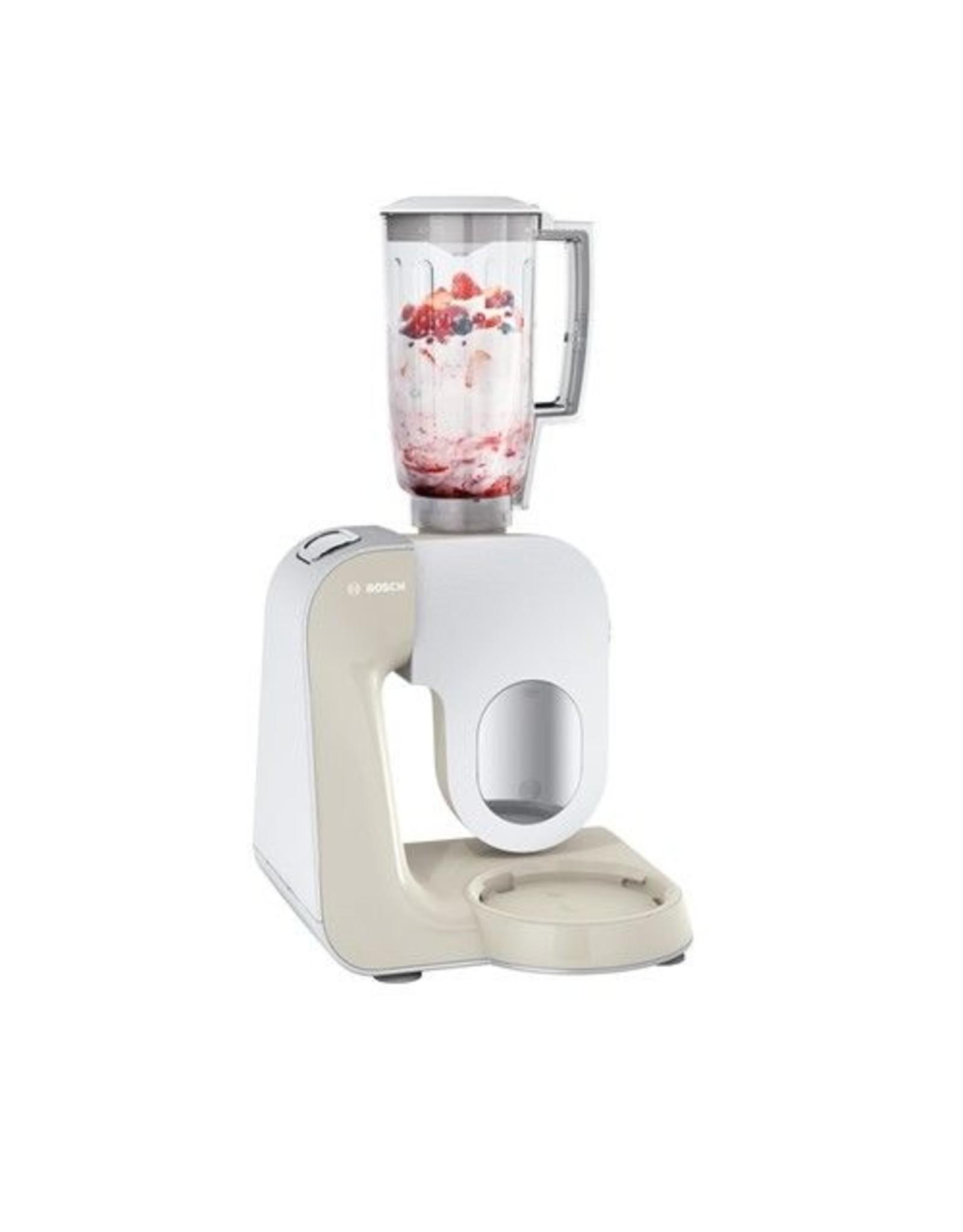 Bosch Bosch MUM58L20 1000W 3.9l Grijs, Roestvrijstaal, Wit keukenmachine