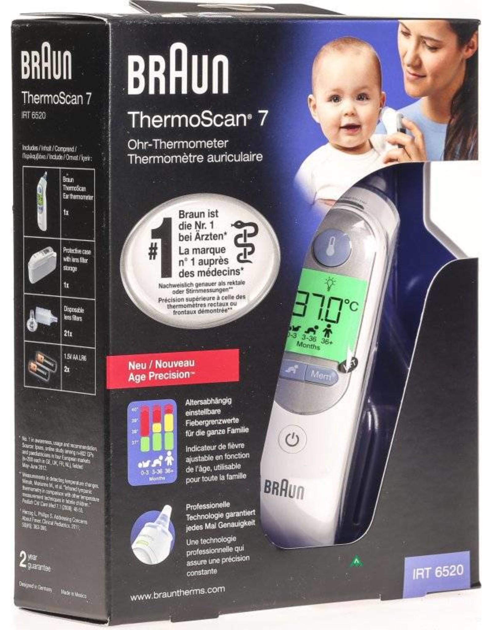 Braun Braun ThermoScan 7 Oor Contactloos