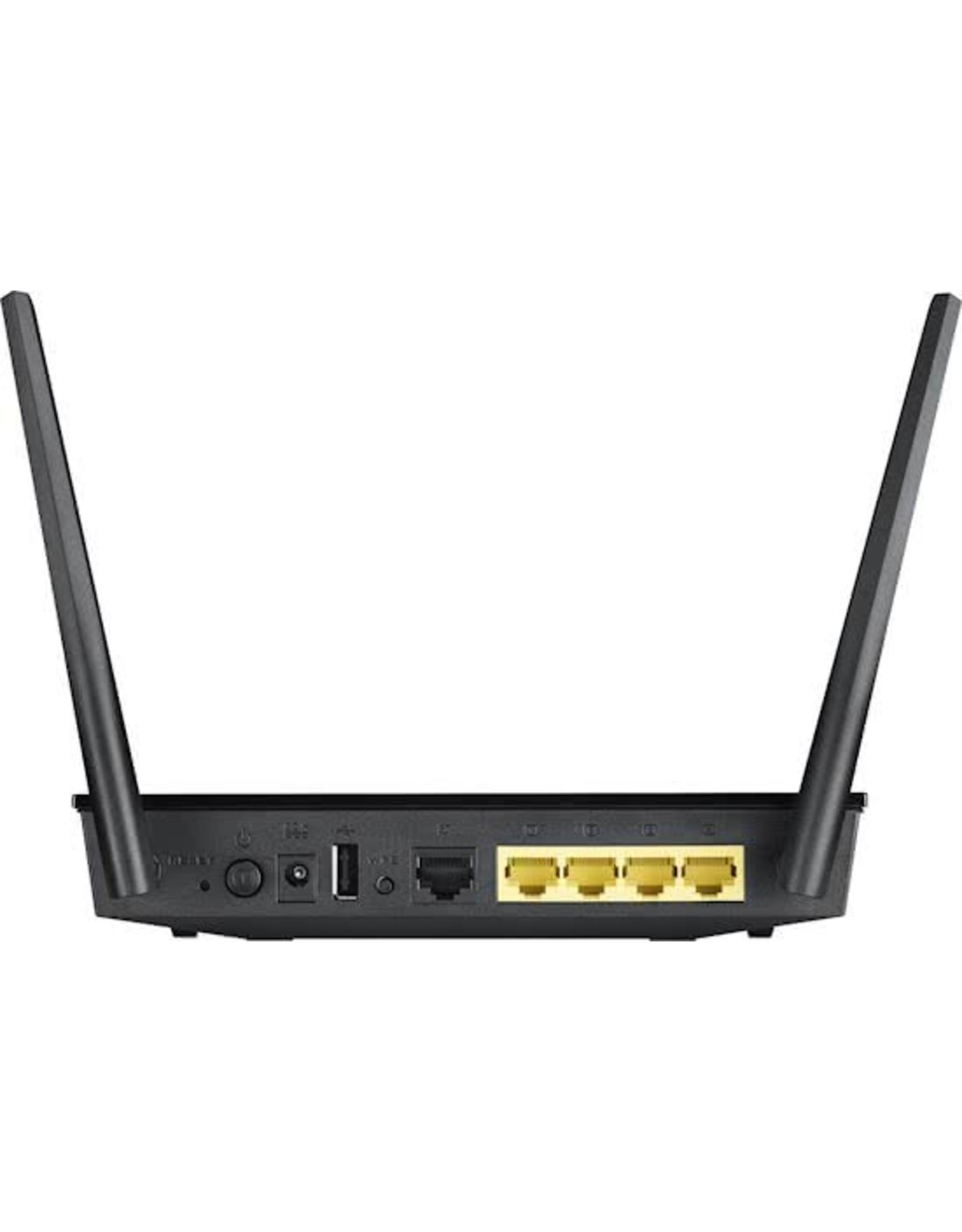 ASUS ASUS RT-AC51U Wi-Fi Ethernet LAN Dual-band Zwart router