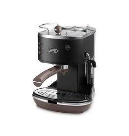 DeLonghi DeLonghi Icona Vintage Espresso machine 1.4l 2kopjes Zwart