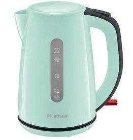 Bosch Bosch TWK7502 1.7l 2200W Grijs, Turkoois waterkoker