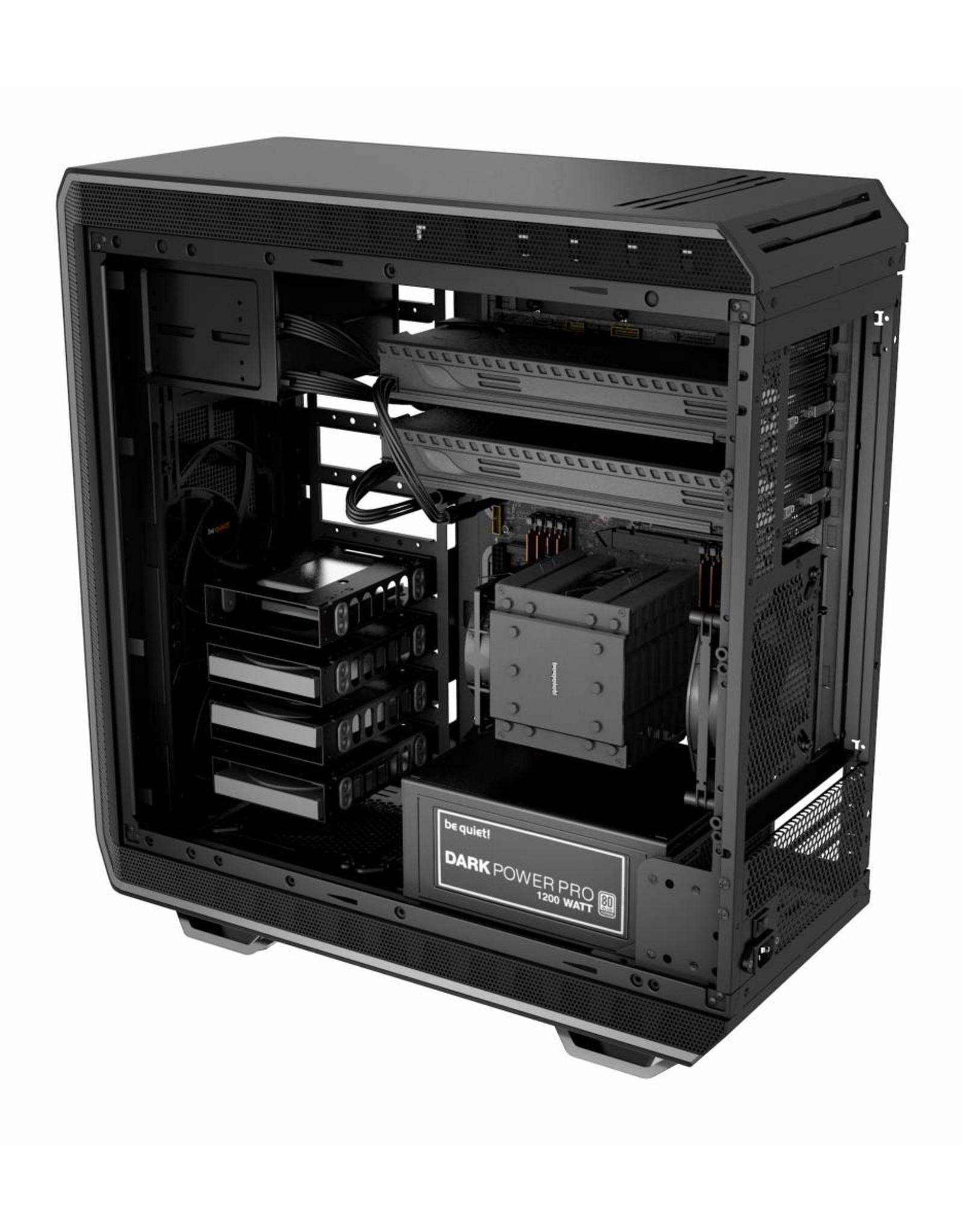 be quiet! be quiet! Dark Base 900 Desktop Zwart, Zilver