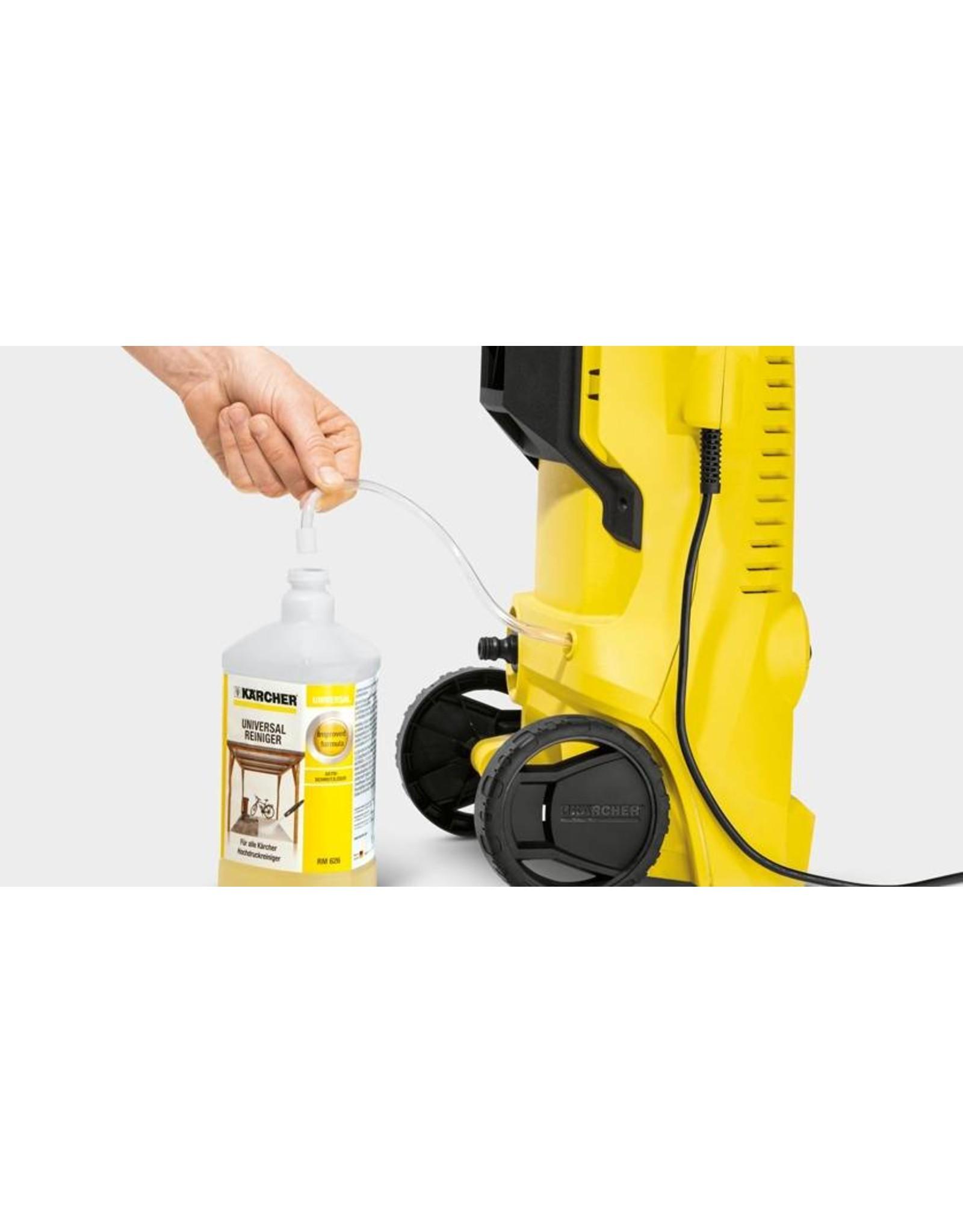 Kärcher Kärcher K 2 1400W Zwart, Geel pressure washer