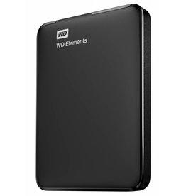 Western Digital Western Digital WD USB 1000GB Zwartharde schijf