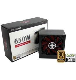 Xilence Xilence XP650R9 650W ATX Zwart, Rood power supply unit