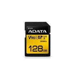 ADATA ADATA Premier ONE V90 128GB SDXC UHS-II Klasse 10 flashgeheugen