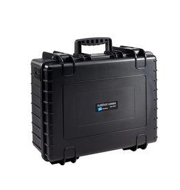 B&W B & W outdoor case type 6000 Zwart