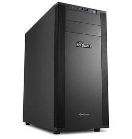 Sharkoon Sharkoon M25 Silent PCGH Toren Zwart computerbehuizing