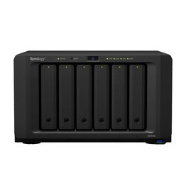 Synology Synology DiskStation DS1618  NAS Desktop Ethernet LAN Zwart