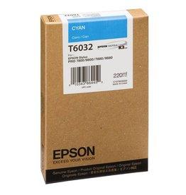 Epson Epson inktpatroon Cyan T603200 220 ml