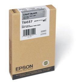 Epson Epson inktpatroon Light Black T603700 220 ml