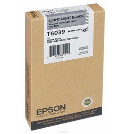 Epson Epson inktpatroon Light Light Black T603900 220 ml