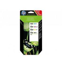 HP HP 940XL originele high-capacity inktcartridges, 4-pack